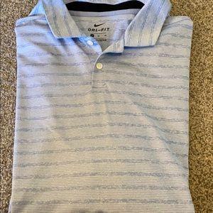 Nike Dri-Fit Golf Shirt Size XL